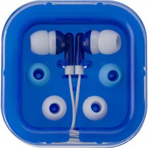 Fülhallgató szett, kék